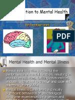 Introduction of psychiatric Nursing