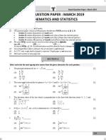 MATHS & STATISTICS Question Paper Maharashtra HSC Class 12 Board Exam March 2019.pdf