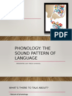 phonology the sound of language