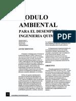 Módulo ambiental en Ing.
