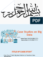 Case Studies on Big Data2
