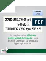 CISL NOTA  6 -2019 DL vo 66 e 96 inclusione
