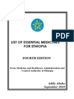 Ethiopian drug index