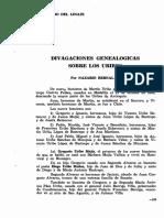 Divagaciones genealógicas sobre los Uribe