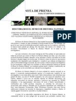 Descubramos_el_Museo de Historia Natural_Nota de Prensa