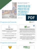 portfolio de projetos DPPGE IFES Linhares maio-2019