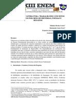 MATEMÁTICA E LITERATURA TRABALHANDO CONCEITOS MATEMÁTICOS POR MEIO DE HISTÓRIAS, POEMAS E DESAFIOS