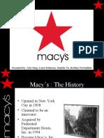 Macy's Retail Analysis Presentation