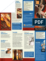 Guitar Care Brochure