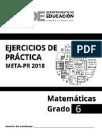 Ejercicios Matematica 6