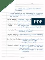 Ambiguity Notes