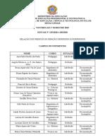 Resultado Parcial Isenção de Taxa de Inscrição - Vestibular 2019-1