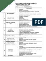 Temarios supletorio_Matemática_1ero A-B-TI Vespertina