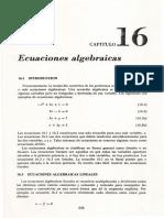 CAP. 16 Introducción al Análisis en Ingeniería Química