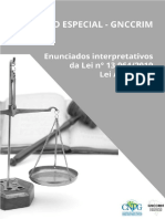 Enunciados CNPG GNCCRIM Pacote Anticrime (Lei 13.964)