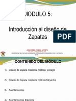 Módulo 5. Cim Sup - Zapatas
