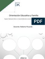 Clase 1 ORIENTACION Y FAMILIA