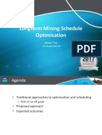 2018 AMM WMC - Long-term mine schedule optimisation — ATsoy