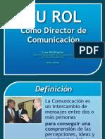 Director Comunicacion DIA