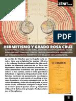 HERMETISMO Y ROSA CRUZ