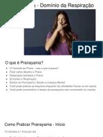 Pranayama - Domínio da Respiração