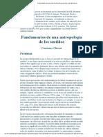 antropologia de los sentidos.pdf
