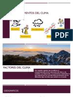 Elementos y factores del clima - copia