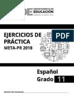 2018 Ejercicios Espanol 11