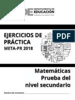 2018 Ejercicios Matematica 11