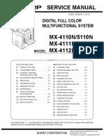 guia tecnica Sharp_MX5111N-SM