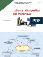 Classification et Désignation des métaux 2019-2020