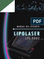 MANUAL LIPOLAìSER Revisioìn)