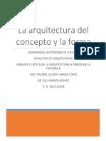 Análisis de la arquitectura funcionalista
