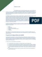 Codigo de Etica de Las Ciencias Sociales Para Felipe
