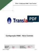 DT014 Configuracao HSBC Novo Contrato Ed. 17
