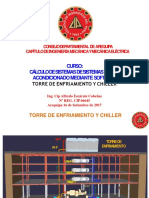 TORRE DE ENFRIAMIENTO Y CHILLER
