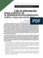 Sociedad de la informacion - etapa posterior de la globalizacion-comunicacion.pdf
