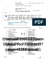 Epson Stylus Pro 7700 Service Manual (Page 482 of 519)