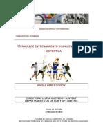 Paola Perez - TFG - Tecnicas de entrenamiento visual en optometria deportiva