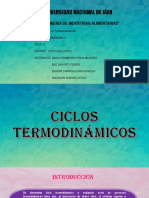 Ciclos termodinámicos exposicion