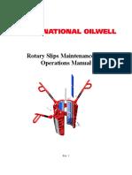 NOV - Rotary Slips Manual