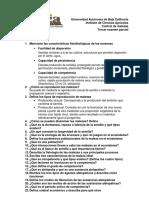 CM - Cuestionario guía segundo examen parcial
