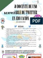 Presentación Decálogo Docente de Uso Responsable de Twitter