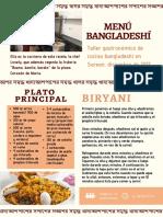 Menú-bangladeshí