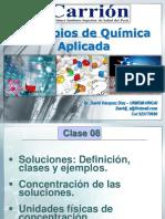 QUIMICA-Clase 07-Soluciones -unidades de concentración