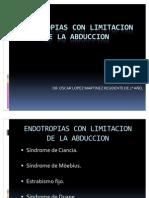 Endotropias Con Limitacion de La Abduccion