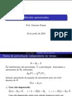 05 - Métodos aproximados