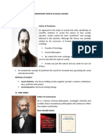 Important Figures in Social Science