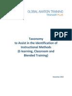 GAT Training Taxonomy 2016