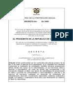 Decreto 491 de 1990